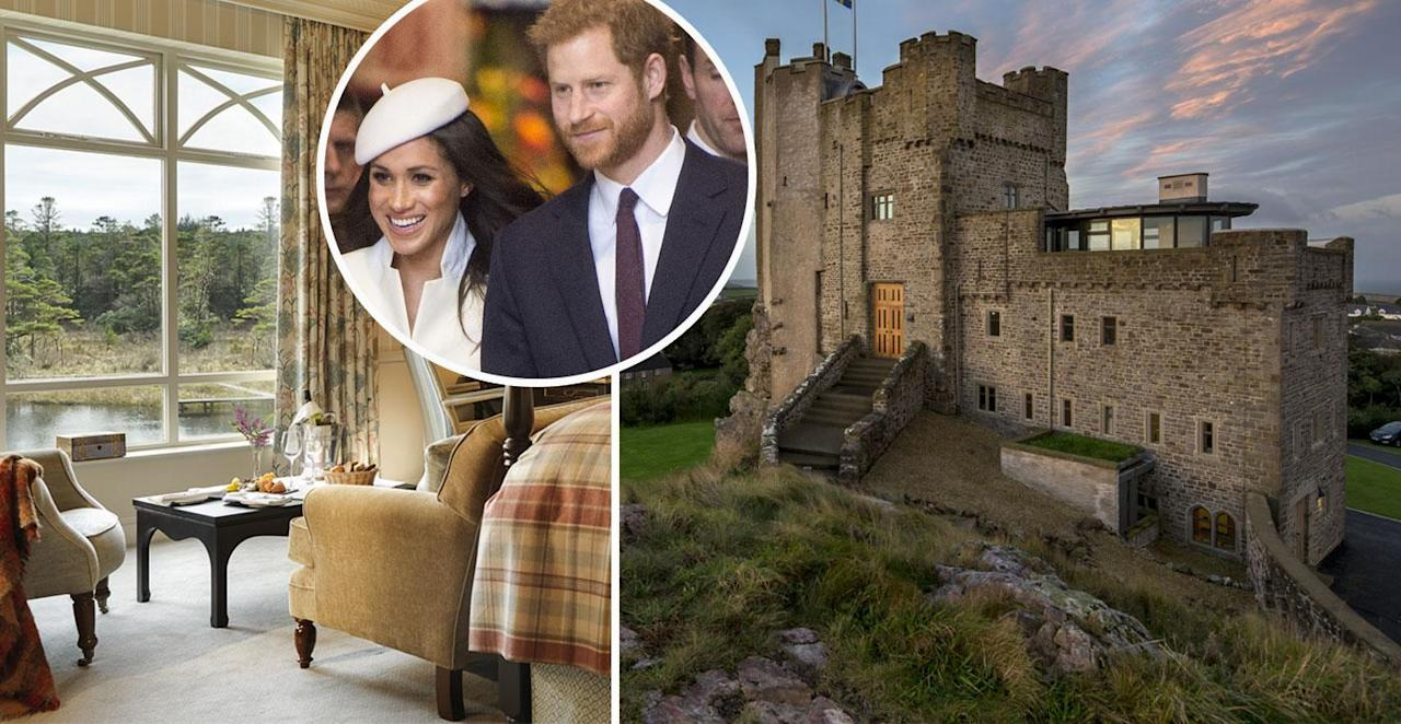 <p>Forget hotels! You can holiday in these castles</p>