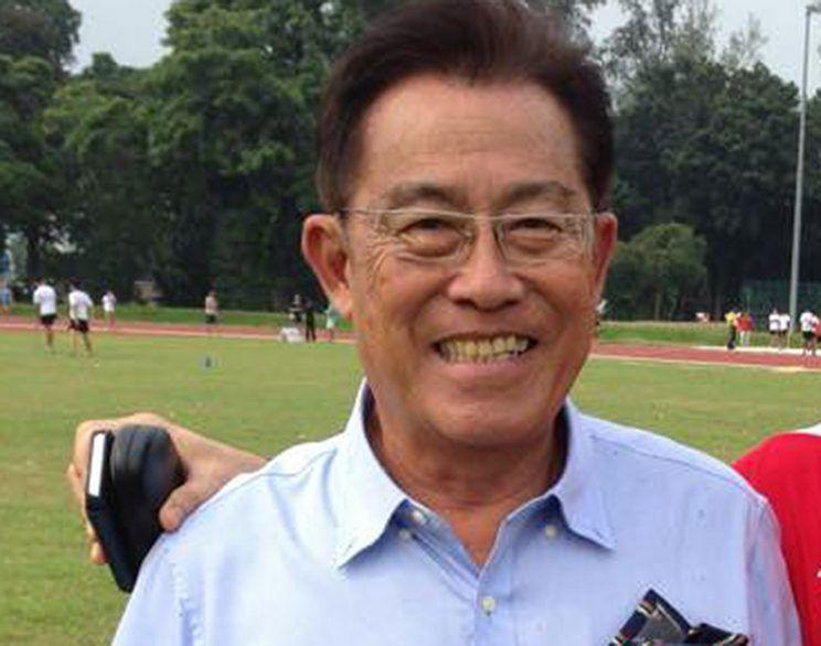 Loh Siang Piow, alias Loh Chan Pew, 75, had been found guilty after trial of two charges of molesting a then 18-year-old athlete. (Photo: Singapore Athletics Facebook page)