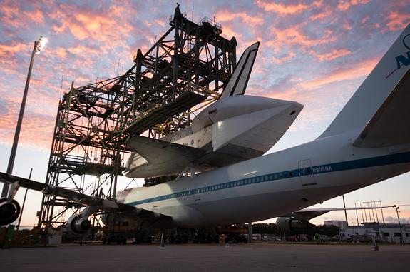 Space Shuttle Endeavour's Final Flight to Calif. Delayed by Weather