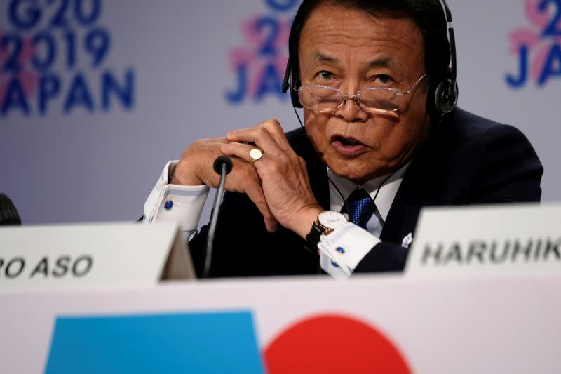 G7 finance leaders agree on coordination for global recovery - Japan's Aso