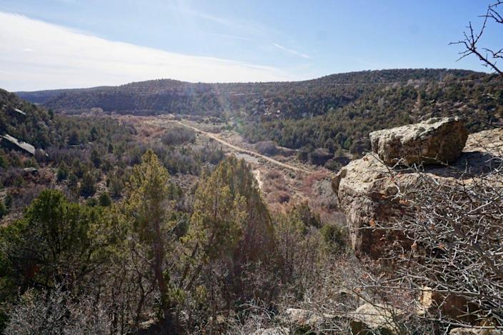 Recapture Canyon near Blanding is in Utah's vast, sparsely populated southeastern area of the state.