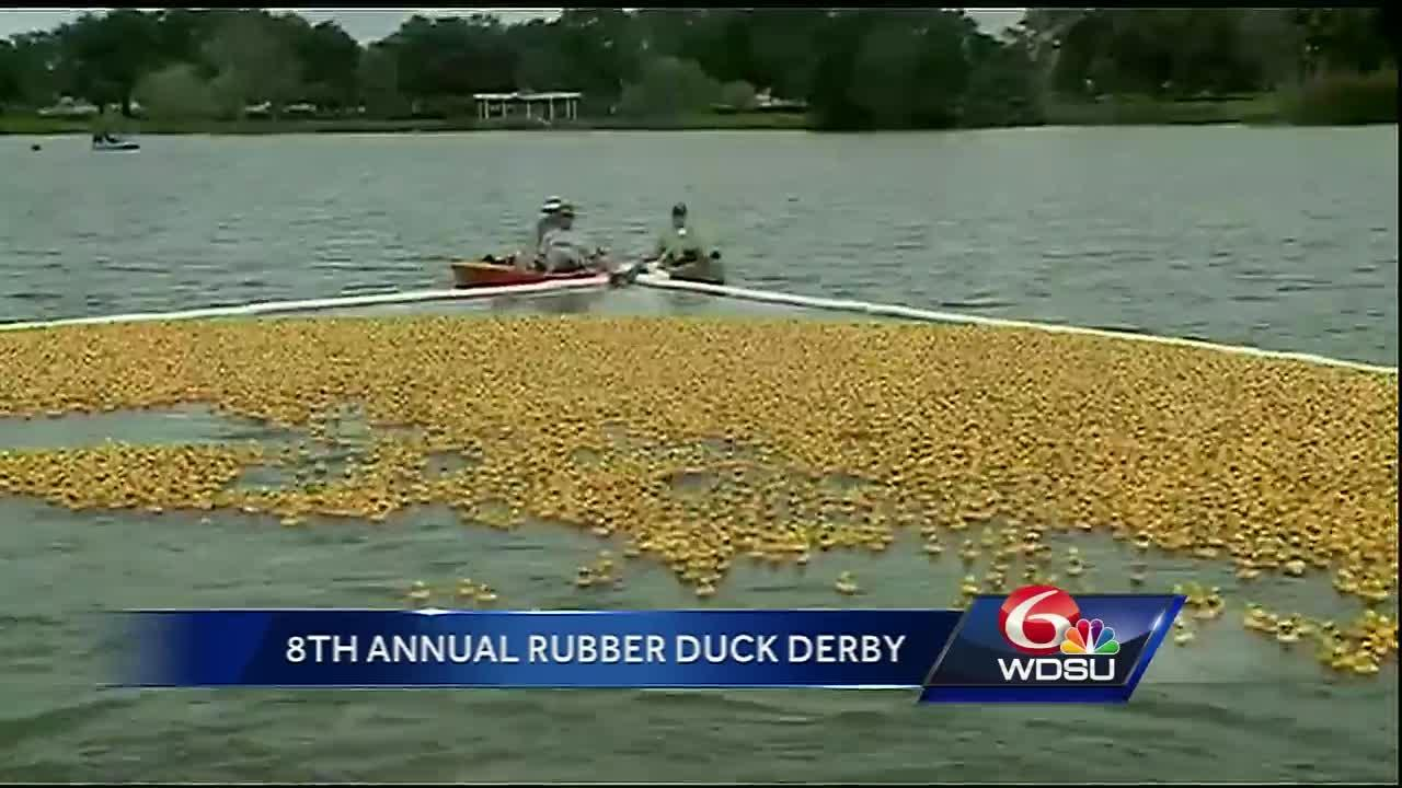 Second Harvest's annual Duck Derby returns to City Park in an effort to fight hunger in the Crescent City.