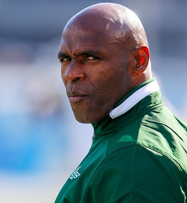 Charlie Strong fell into a spot at South Florida where he can win immediately. (Getty)