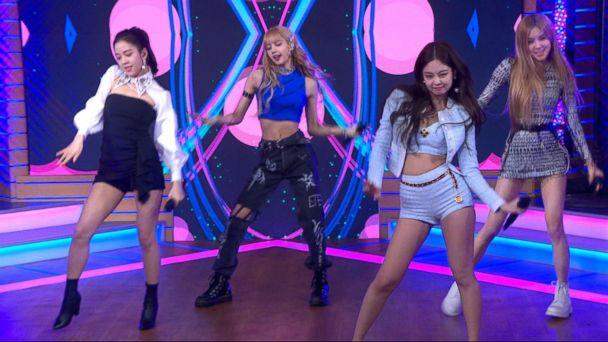 PHOTO: Girl group BlackPink performs on 'Good Morning America,' Feb. 12, 2019. (ABC)