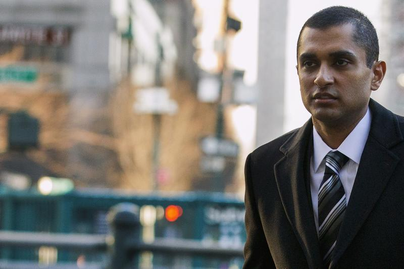 Former SAC Capital portfolio manager Martoma arrives at the Manhattan Federal Courthouse in New York,