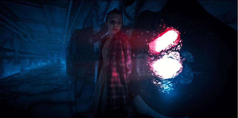 We were never really all that worried as to whether Eleven would return in the second season of 'Stranger Things,' but it was nice to see her in Netflix's trailer for the upcoming episodes. (Photo: Netflix/Everett Collection)