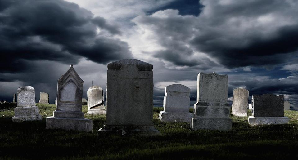 <p>The city of Claremont, NH is not down with you hosting any spooky soirées in the graveyard. It's illegal to get drunk or picnic in the cemetery here.</p>