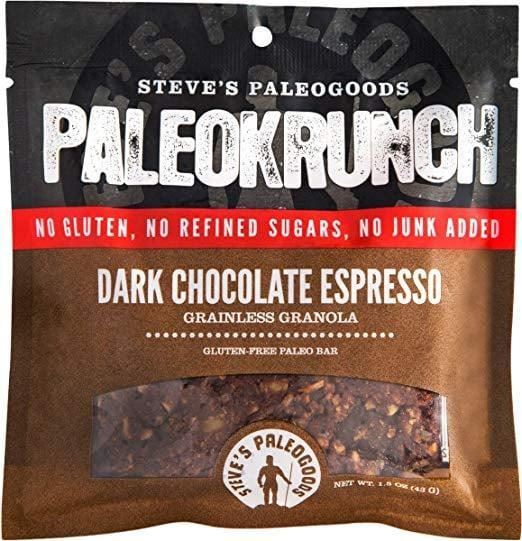 <p>These <span>Steve's Paleo Goods Paleo Krunch Bar</span> ($14 for a 6-pack) are exactly what you want to have in your bag for an on-the-go snack.</p>