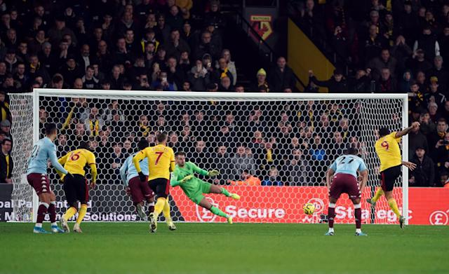 Troy Deeney scores his side's second goal (Credit: Getty Images)