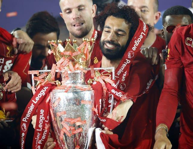 The Egyptian says he wants to win another Premier League