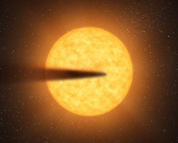 Possible Newfound Alien Planet is Falling to Pieces