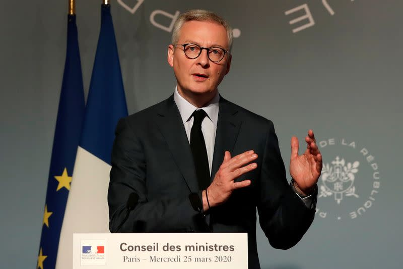 France says EU coronavirus recovery fund to be financed by joint debt