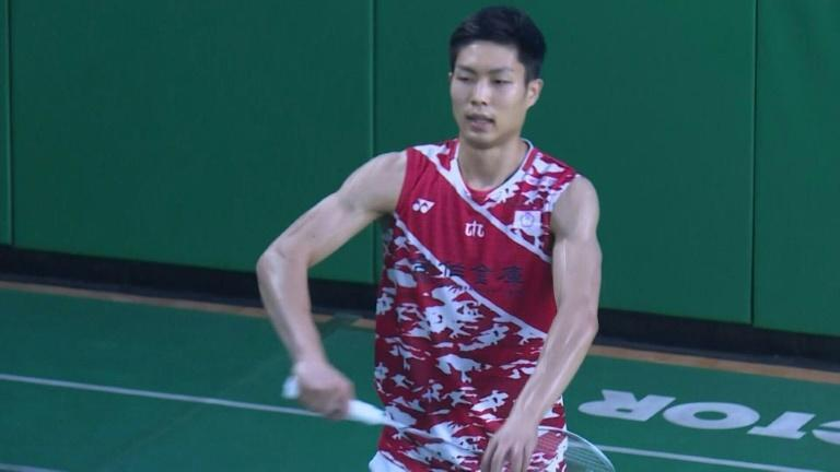 Taiwan's Chou eyes Olympic badminton gold, even without a coach