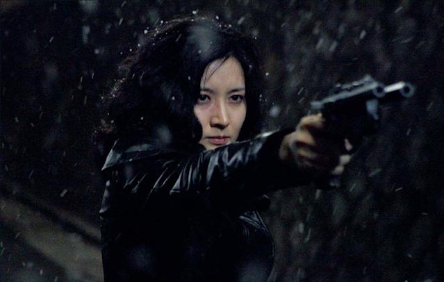 Lee Young-ae in 'Lady Vengeance' (credit: CJ Entertainment)