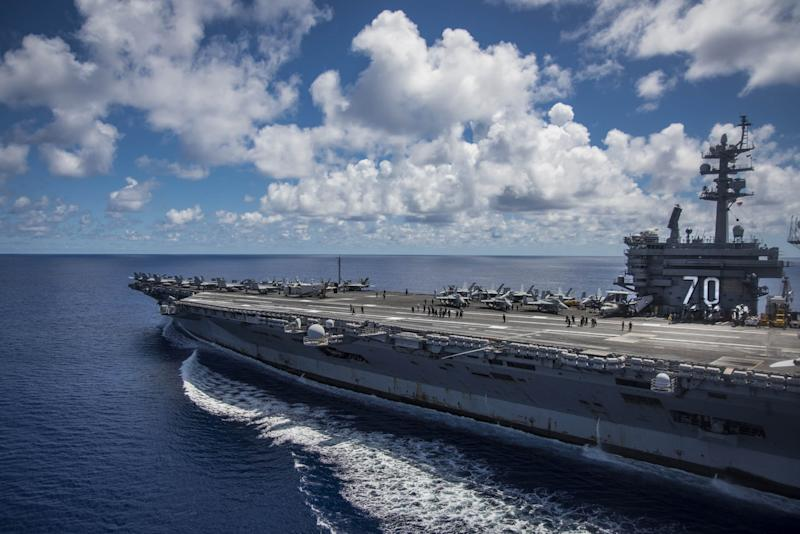 The Navy Wants to Shrink Its Aircraft Carrier Fleet