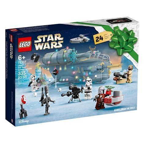 """<p><strong>LEGO</strong></p><p>lego.com</p><p><strong>$39.99</strong></p><p><a href=""""https://go.redirectingat.com?id=74968X1596630&url=https%3A%2F%2Fwww.lego.com%2Fen-us%2Fproduct%2Flego-star-wars-advent-calendar-2021-75307&sref=https%3A%2F%2Fwww.goodhousekeeping.com%2Fholidays%2Fgift-ideas%2Fg29387546%2Fmens-advent-calendars%2F"""" rel=""""nofollow noopener"""" target=""""_blank"""" data-ylk=""""slk:Shop Now"""" class=""""link rapid-noclick-resp"""">Shop Now</a></p><p>Editor's note: In my house, the LEGO Star Wars advent calendar was a yearly tradition ... before we ever had kids. The 335-piece set lets kids-at-heart build ships and vehicles almost every day, and also comes with Christmas-specific minifigs.(Is Baby Yoda wearing an Christmas PJs?)</p><p><strong>RELATED:</strong> <a href=""""https://www.goodhousekeeping.com/holidays/gift-ideas/g29624061/star-wars-gifts/"""" rel=""""nofollow noopener"""" target=""""_blank"""" data-ylk=""""slk:The Coolest Star Wars Gifts for Both Kids and Adults"""" class=""""link rapid-noclick-resp"""">The Coolest <em>Star Wars</em> Gifts for Both Kids and Adults</a></p>"""