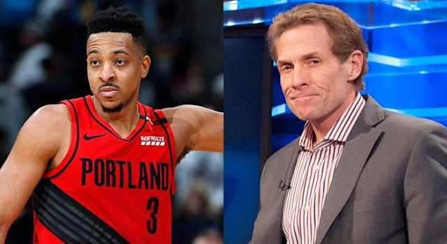 Portland Trail Blazers guard CJ McCollum came to the defense of Kawhi Leonard, after he drew criticism from TV personality Skip Bayless following the Toronto Raptors' Game 6 win over the Milwaukee Bucks.