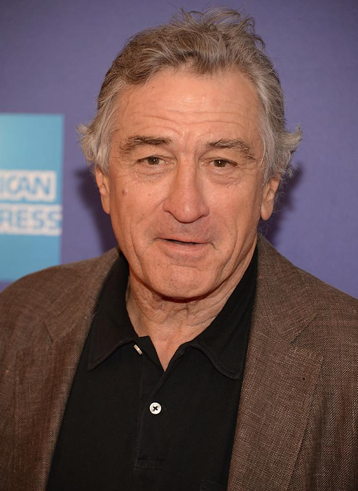 "NEW YORK, NY - APRIL 20:  Co-Founder of the Tribeca Film Festival Robert De Niro attends the ""I Got Somethin' To Tell You"" World Premiere during the 2013 Tribeca Film Festival on April 20, 2013 in New York City.  (Photo by Andrew H. Walker/Getty Images for Tribeca Film Festival)"