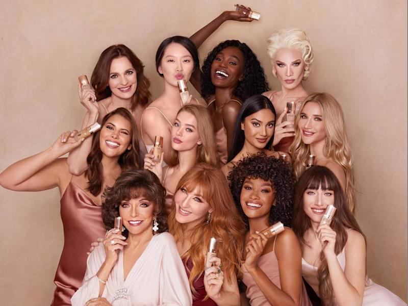 Joan Collins headlines Charlotte Tilbury foundation campaign