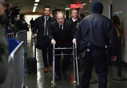 Jury selection is key in the trial of Harvey Weinstein, seen here entering Manhattan Criminal Court on January 16 in New York