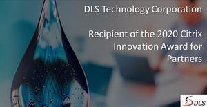 Recipient of the 2020 Citrix Innovation Award for Partners