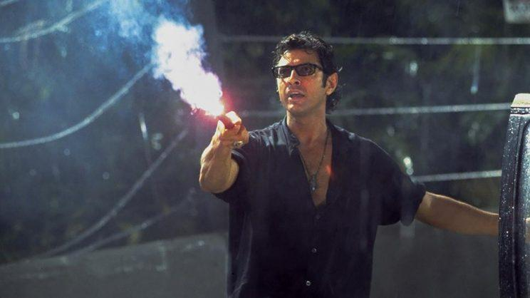 Goldblum... is eager to bring back 'sassy' Dr Ian Malcolm for Jurassic World 2 - Credit: Universal