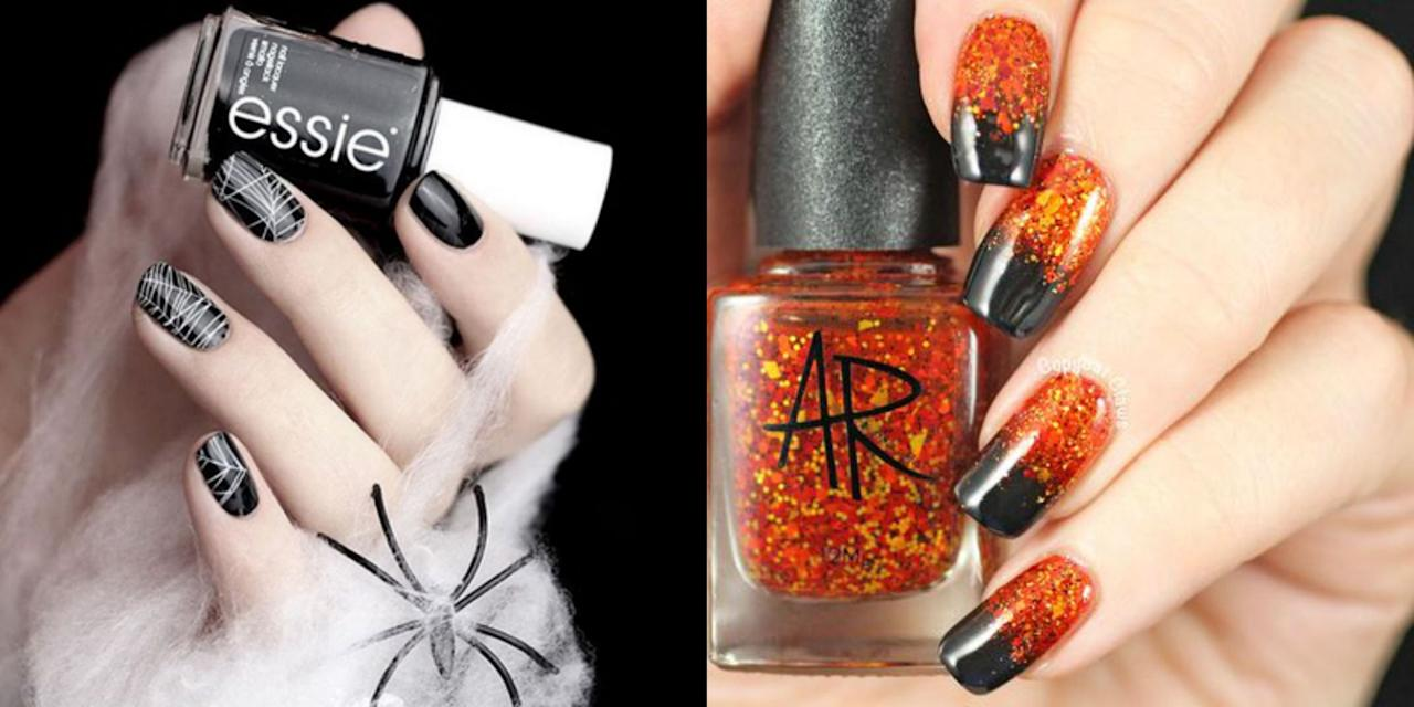 "<p>This <a href=""https://www.goodhousekeeping.com/holidays/halloween-ideas/"" target=""_blank"">Halloween</a>, we really want you to <em>nail</em> it with your spellbinding style. While everyone is still coming up with their costume, take Halloween into your own hands ... literally. Your nails should be Halloween-ready, and there's no better way to do that than browsing these spooky, glam, and jaw-dropping Halloween <a href=""https://www.goodhousekeeping.com/beauty/nails/"" target=""_blank"">nail art ideas</a>. Even Morticia Addams would envy these cob-webbed, skull-covered, and subtle metallic Halloween manicures. (Trust us, you won't feel pressured to grab your nail polish remover on November 1 with these seasonal options). </p><p>You probably already have your <a href=""https://www.goodhousekeeping.com/holidays/halloween-ideas/g2599/halloween-costumes-with-makeup-ideas/"" target=""_blank"">makeup</a> and costume ideas set for October 31, but why limit your Halloween spirit to one day only? It's time to think beyond simple orange and black styles and polish up for the spookiest night of the year with these cute nail designs that you can pull off throughout the entire fall season. Check out the best Halloween nail designs, crafted by our favorite nail artists, bloggers, and nail polish brands. (And before you get painting, check out our best advice for making sure your nails are <a href=""https://www.goodhousekeeping.com/beauty/nails/a34645/healthy-nail-care-tips/"" target=""_blank"">healthy, strong, and shiny</a>.)</p>"