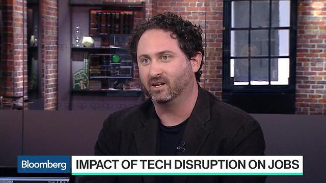 "Apr.21 -- Brian Singerman, a partner at Founders Fund, discusses the firm's investments in health care and tech's impact on jobs with Caroline Hyde on ""Bloomberg Technology."""