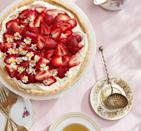"""<p>Chamomile tea adds an unexpectedly fruity layer to this sweet seasonal treat.</p><p><em><a href=""""https://www.countryliving.com/food-drinks/a26860932/chamomile-mascarpone-tart-strawberries-recipe/"""" rel=""""nofollow noopener"""" target=""""_blank"""" data-ylk=""""slk:Get the recipe from Country Living »"""" class=""""link rapid-noclick-resp"""">Get the recipe from Country Living »</a></em></p>"""