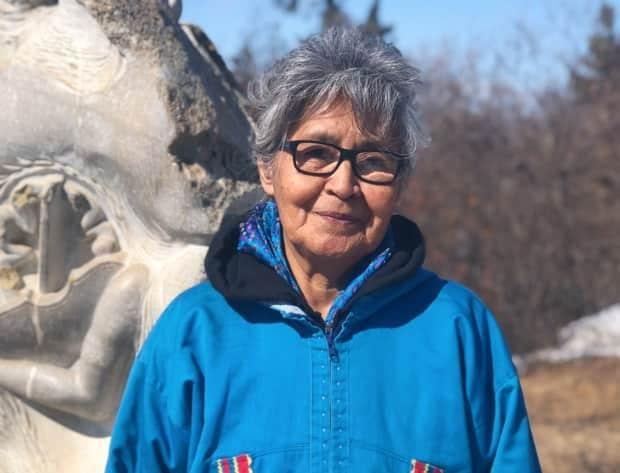 Gwich'in elder Sarah Jerome first sat on the board in the 1980's. Now, she says she's back with more wisdom. (Mackenzie Scott/CBC - image credit)