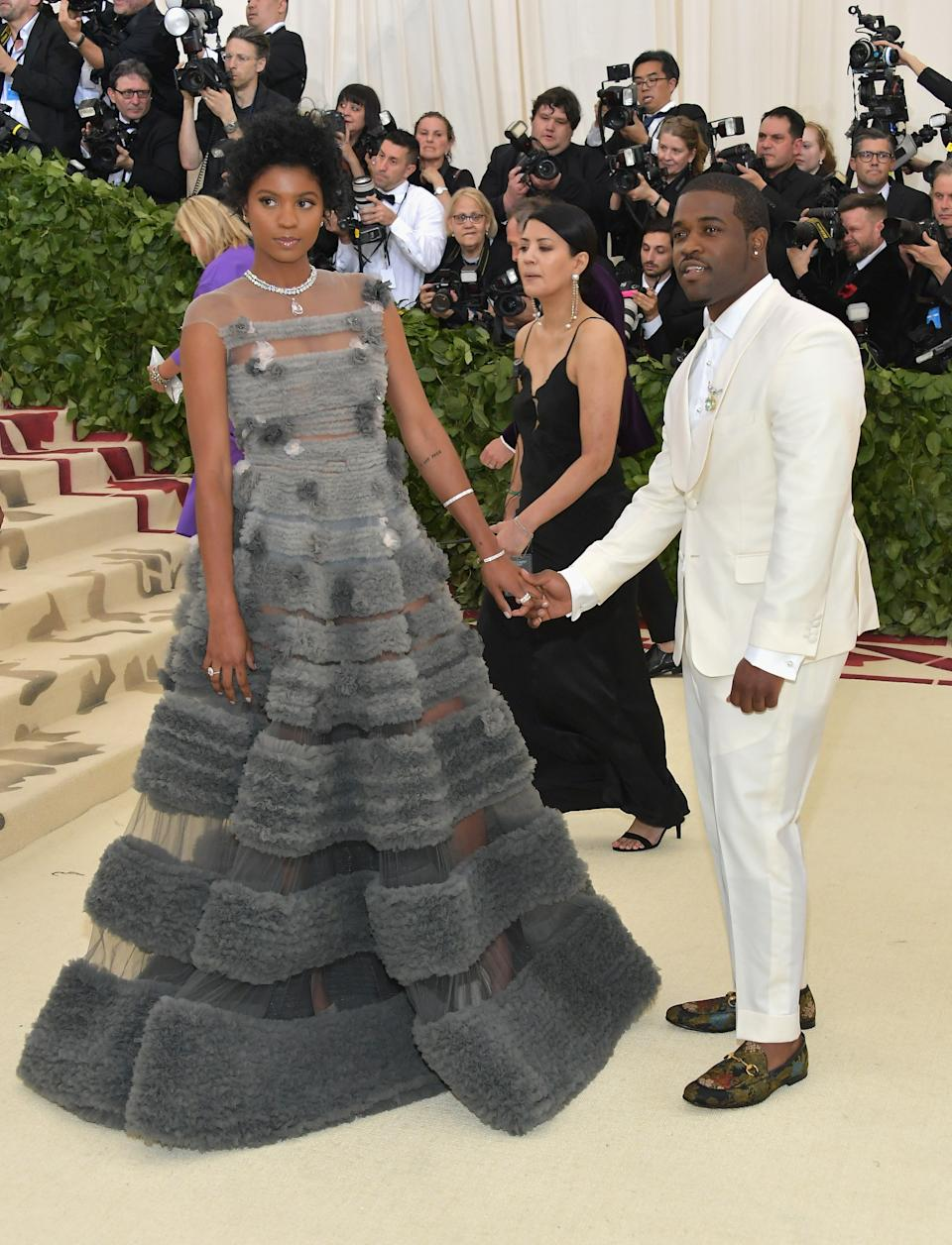 """<h1 class=""""title"""">Renell Medrano and A$AP Ferg in Tiffany & Co. jewelry</h1><cite class=""""credit"""">Photo: Getty Images</cite>"""
