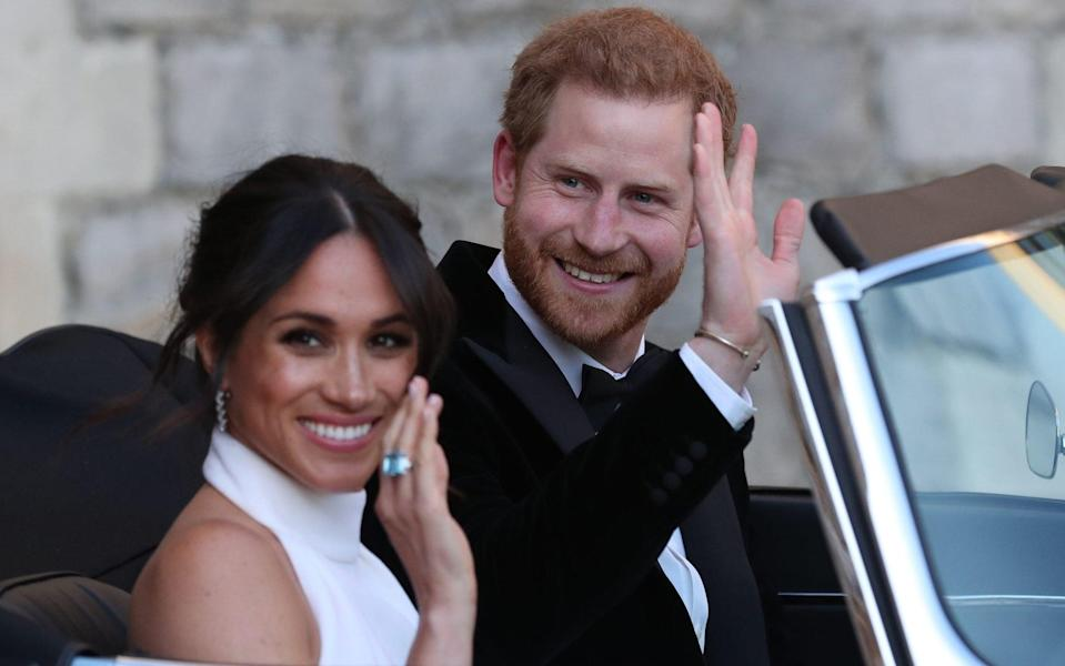 According to biography 'Finding Freedom', Harry and Meghan enjoyed secret trips to destinations such as Botswana, Norway and Turkey - Steve Parsons/PA