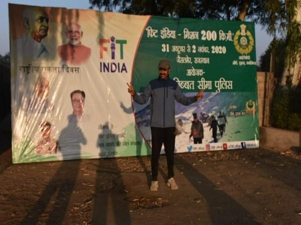Fit India Walkathon' organised by Indo-Tibetan Border Police