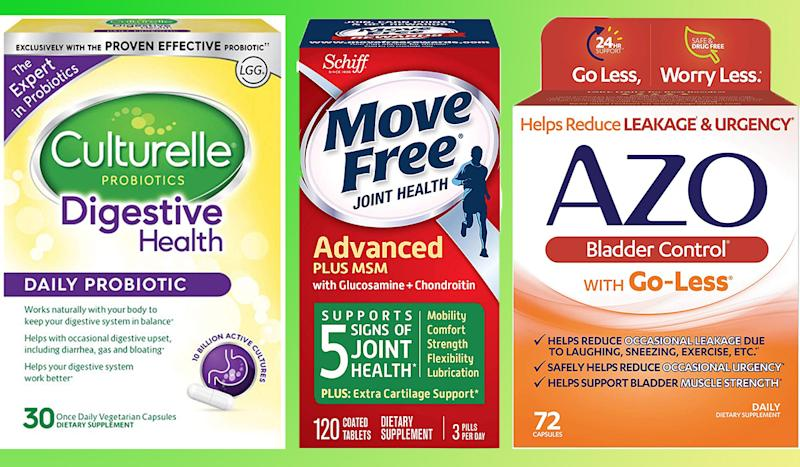 Amazon's daily deal has a supplement for whatever's ailing you. (Photo: Amazon)
