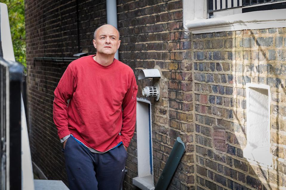 <p>Dominic Cummings, the prime minister's former chief adviser, will give evidence on Wednesday</p> (EPA)