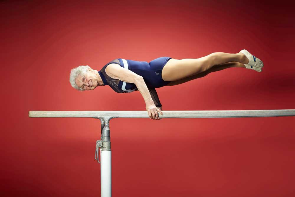 86 year-old Johanna Quaas from Germany is named the Oldest Gymnast. Remarkably the retired PE teacher from Leipzig; Germany only began to train at gymnastics in her 50s taking part in her first competition at the age of 56