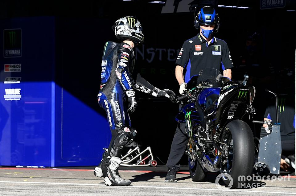 "Maverick Vinales, Yamaha Factory Racing<span class=""copyright"">Gold and Goose / Motorsport Images</span>"