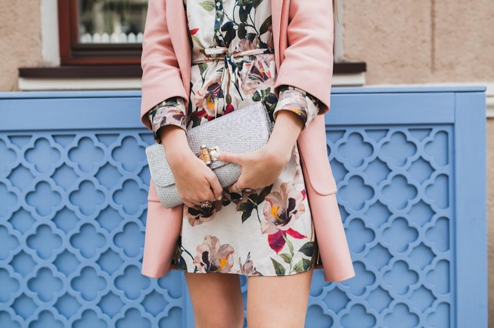 woman in floral dress things no woman over 50 should own