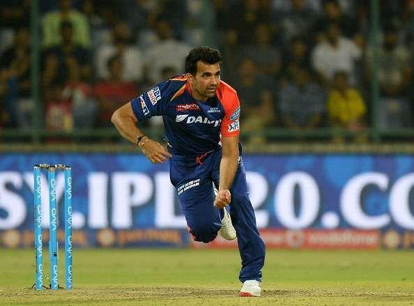 Zaheer Khan bowled the first ever ball of the IPL