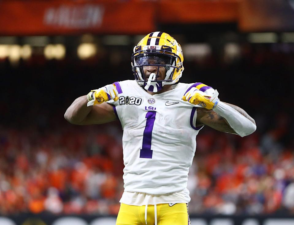Ja'Marr Chase last played in LSU's national championship win over Clemson in 2020.