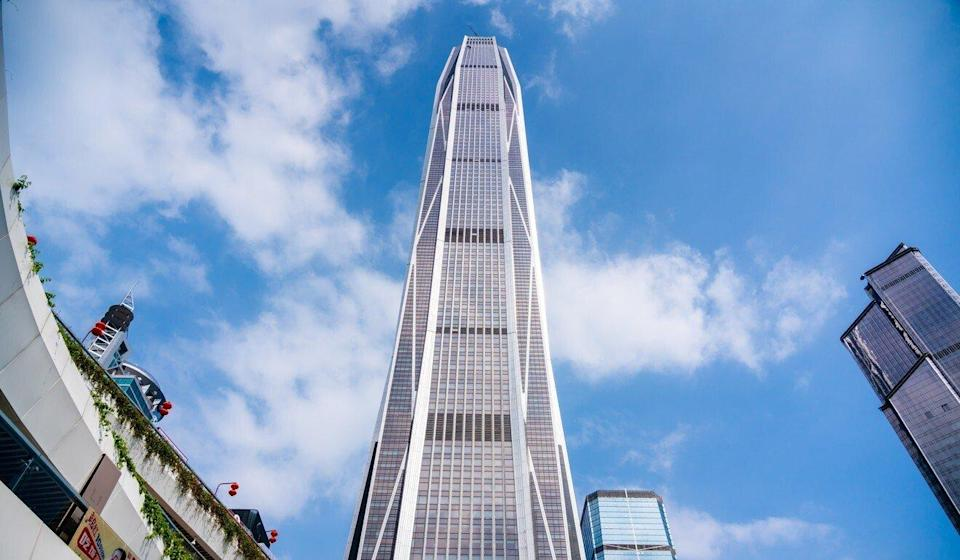 The 110-storey Ping An International Finance Centre, Ping An's flagship property in Shenzhen. Photo: Getty Images