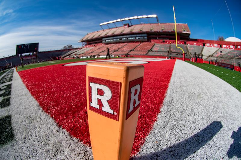 PISCATAWAY, NJ - NOVEMBER 23: General stadium view during the college football game between the Michigan State Spartans and Rutgers Scarlet Knights on November 23, 2019 at SHI Stadium in Piscataway, NJ (Photo by John Jones/Icon Sportswire via Getty Images)