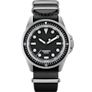 """<p>Dialed-back dive watch from the young, Milan-based industrial design duo, <a href=""""https://www.esquire.com/uk/watches/a32875275/the-coolest-watch-right-now-is-also-a-total-bargain/"""" rel=""""nofollow noopener"""" target=""""_blank"""" data-ylk=""""slk:Unimatic"""" class=""""link rapid-noclick-resp"""">Unimatic</a>, who are obsessed with matt black and limited editions. Taking inspiration from some of the archetypal divers from the 1950s from the likes of Blancpain, <a href=""""https://www.esquire.com/uk/watches/g32849096/best-rolex-watches/"""" rel=""""nofollow noopener"""" target=""""_blank"""" data-ylk=""""slk:Rolex"""" class=""""link rapid-noclick-resp"""">Rolex</a> and Omega, Unimatic add an aesthetic twist entirely of their own. Missed this one? The will doubtless have something equally covetable along soon.</p><p>£525; <a href=""""https://www.unimaticwatches.com/"""" rel=""""nofollow noopener"""" target=""""_blank"""" data-ylk=""""slk:unimaticwatches.com"""" class=""""link rapid-noclick-resp"""">unimaticwatches.com</a></p>"""