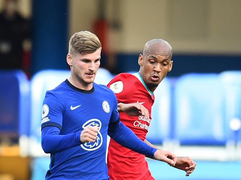 Fabinho filled in at centre-back against Chelsea (Liverpool FC via Getty Images)