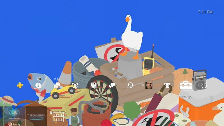 Untitled Goose Game PS4 theme