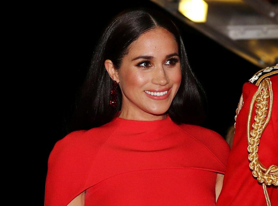 <p>The Duchess of Sussex complained about dispropinate press coverage in her interview with Oprah Winfrey</p> (AP)