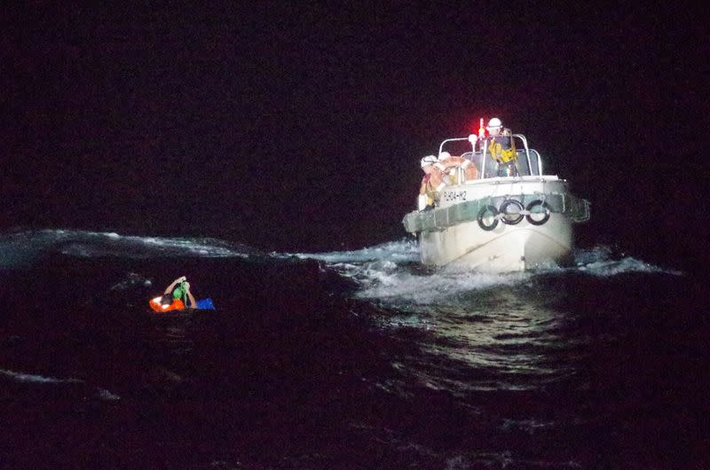 More than 40 crew missing after cattle ship capsizes in storm off Japan