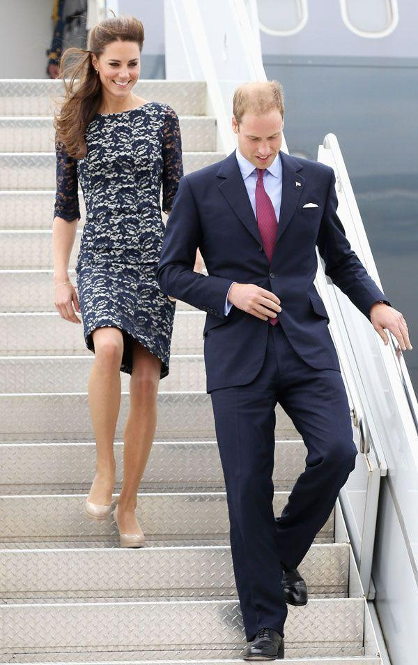 <p>Showing a penchant for more lace Erdem while arriving at the Macdonald-Cartier International Airport in Ottawa, Ontario, Canada.</p>