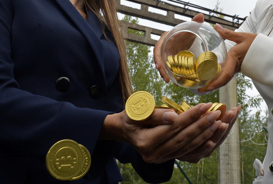 In the hands of the few: most crypto coins are held by just a small number of wallets. Photo: OLGA MALTSEVA/AFP/Getty Images