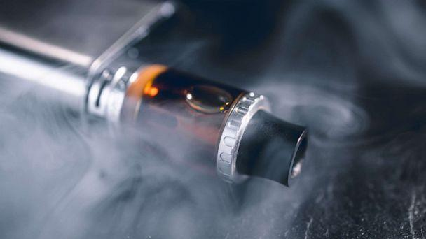 PHOTO: An electronic cigarette sits on a table in an undated stock photo. (STOCK PHOTO/Getty Images)